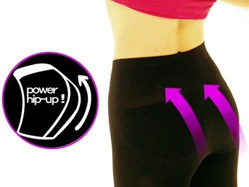 Power hip up collant fm beaute